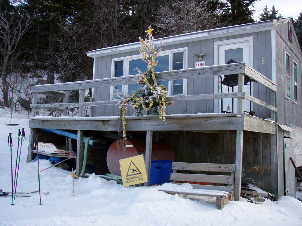 Ski Patrol 'shack' Christmas 2008