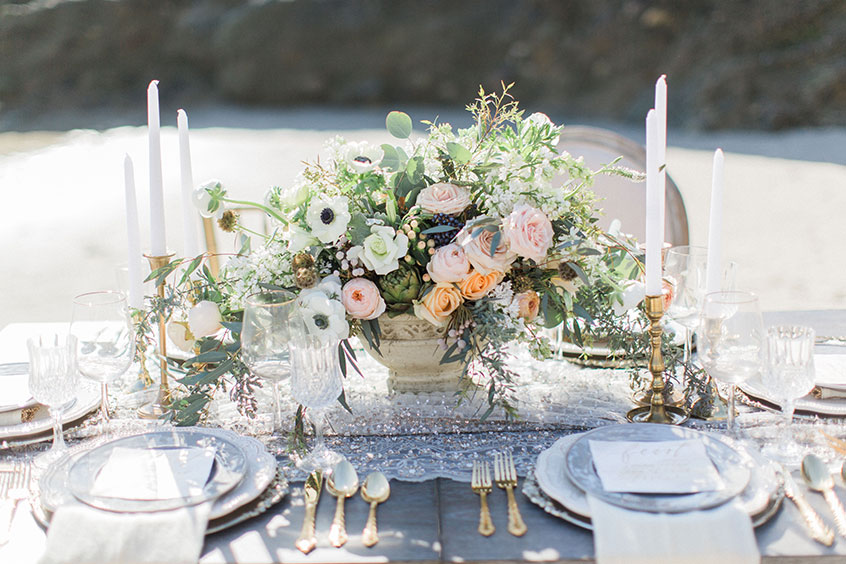 Beach Wedding Inspiration from Exquisite Weddings
