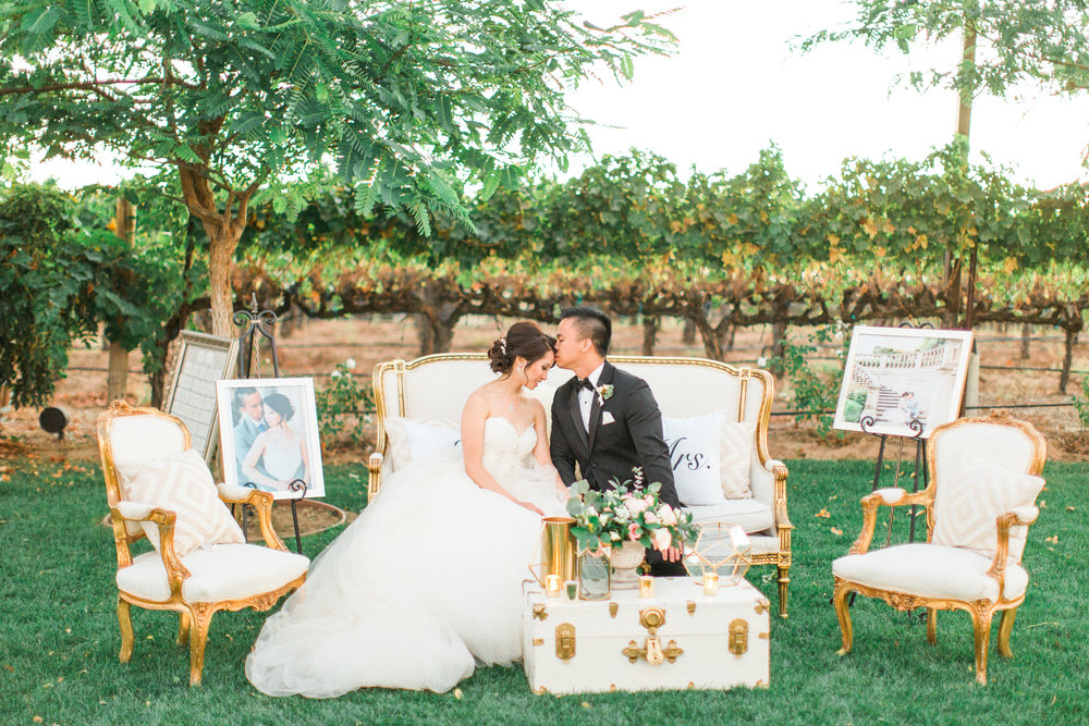 Natasha & Mark, Lorimar Winery