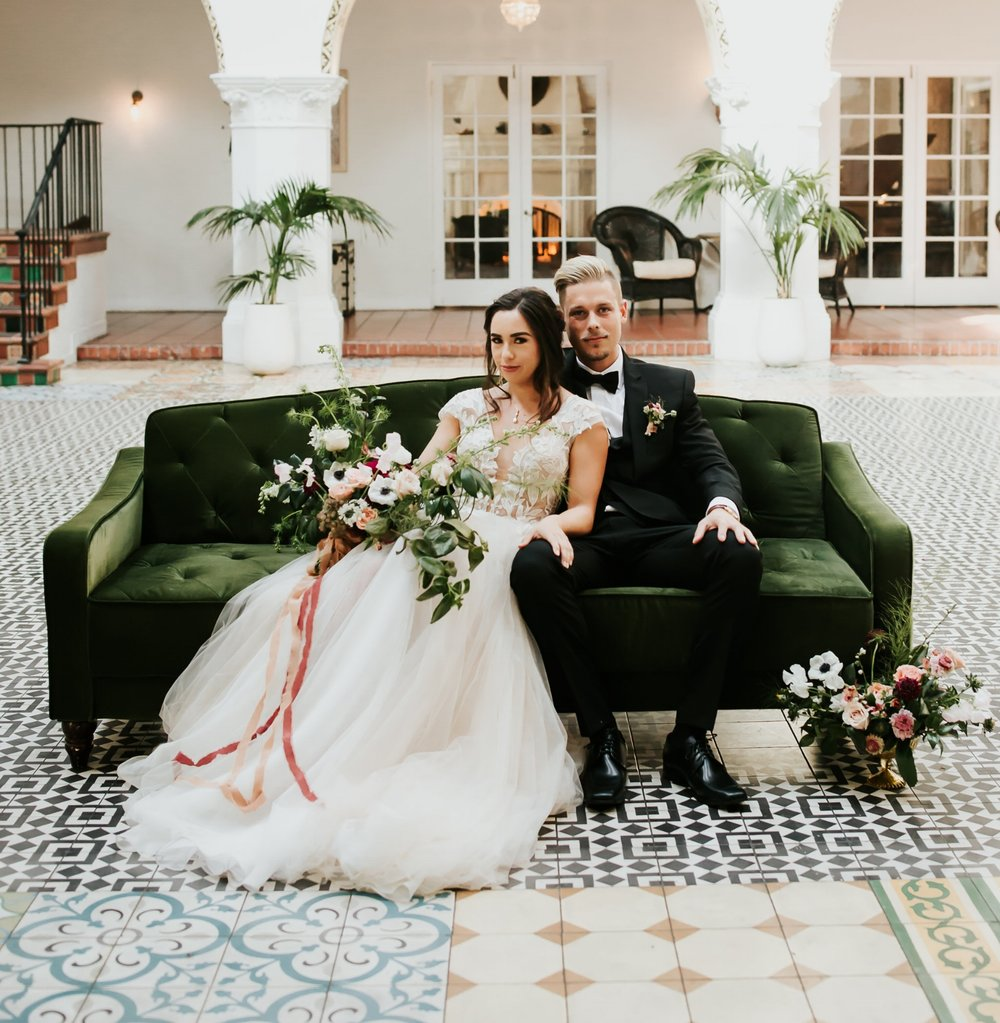Styled Shoot, The Ebell Long Beach