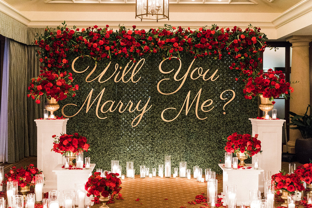 Proposal at the Montage Beverly Hills