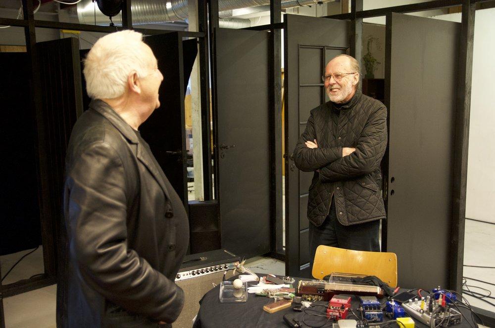 John Tilbury and Keith Rowe