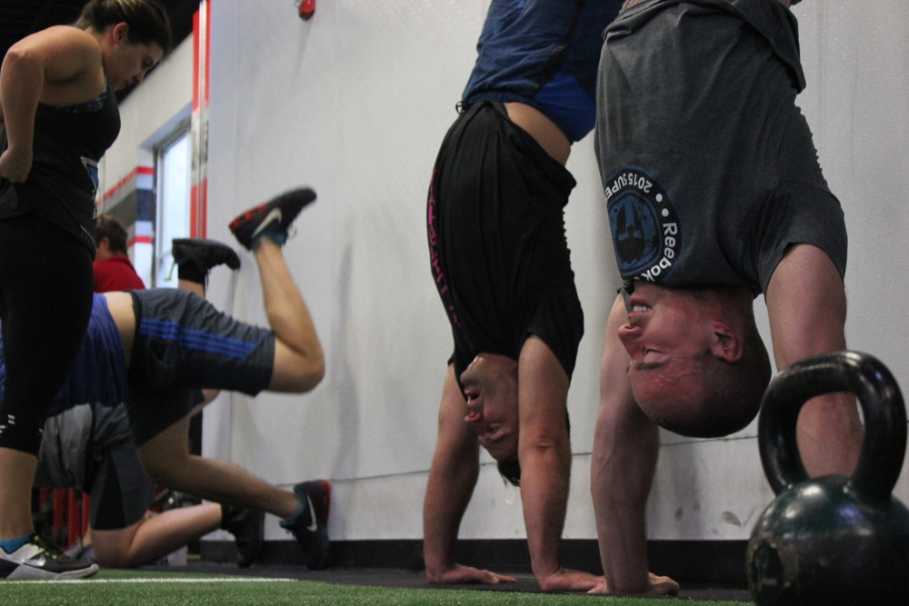 Who thinks Handstand Push Ups are coming in this weeks Open WOD?