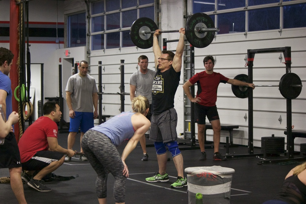 A squad that's got your back can help you go a long way. Kevin is 14th in the world in the 50-55 age group after the opens! he's moving onto the Masters qualifier at the end of this month to try and qualify for the CrossFit games in July! IIt'd be great to have people come and do the qualifier workouts with him when they are announced. We'll put more details on the Events page as it gets closer!