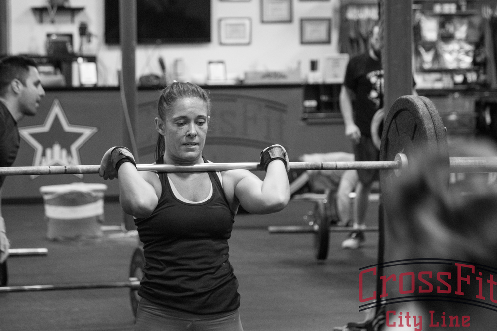 tIME FOR FRONT SQUATS! kEEP THOSE ELBOWS UP AND JUST KEEP MOVING!