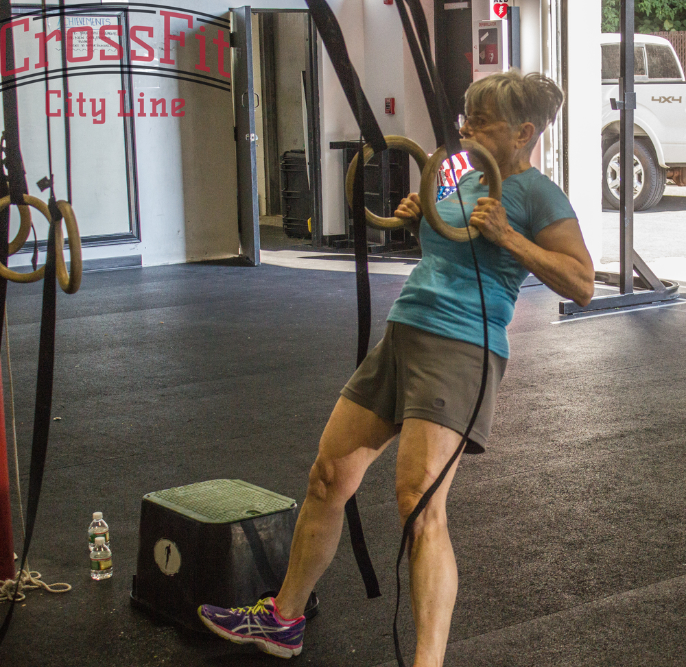 Muscle ups in the workout? Jean will show you what to do