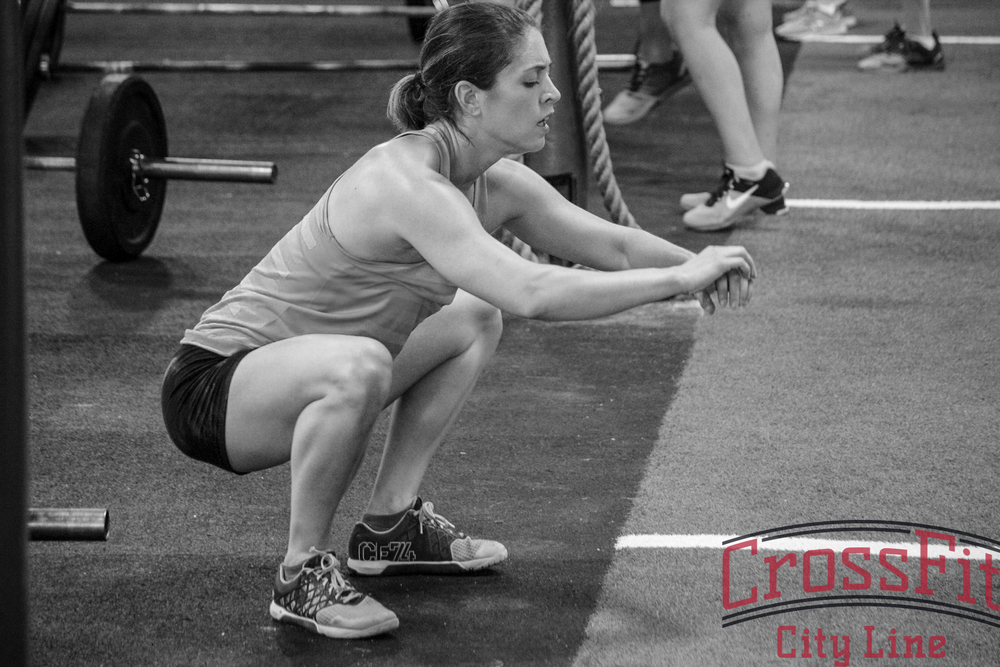 Closing your eyes is a proven technique to help your air squats feel better #8roundsoffun
