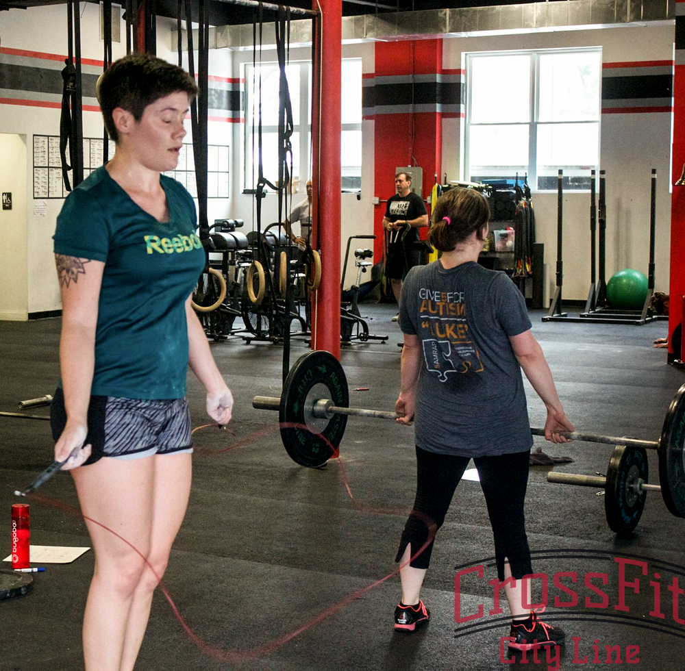 Close your eyes, focus, and finish those double unders