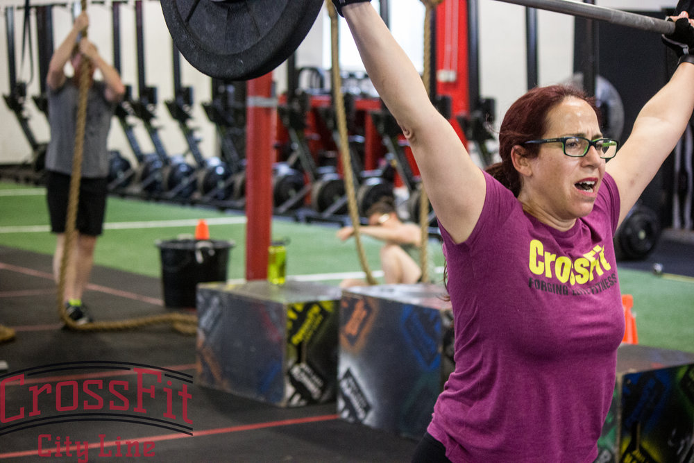 Anat crushing her power snatches
