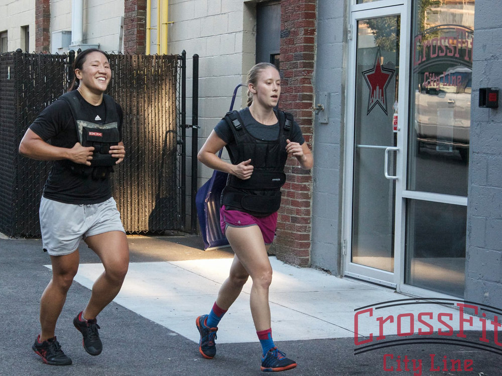 Ali and Mary, crushing WOD's together at CFCL since 2013!