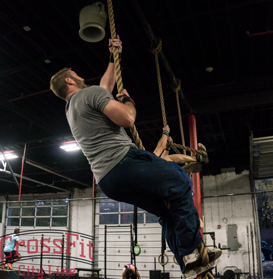 Efficiency on the rope requires skill, a cool head, and one heck of a strong grip!