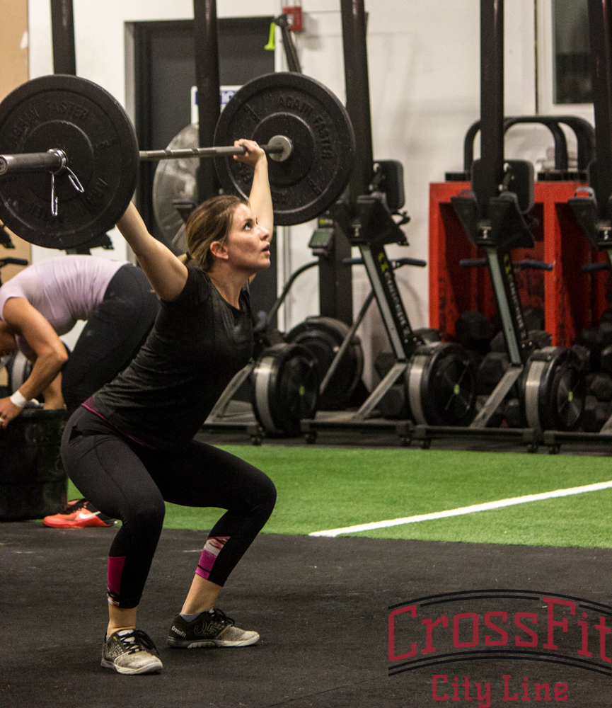 Gina loves the overhead squat. Who doesn't?