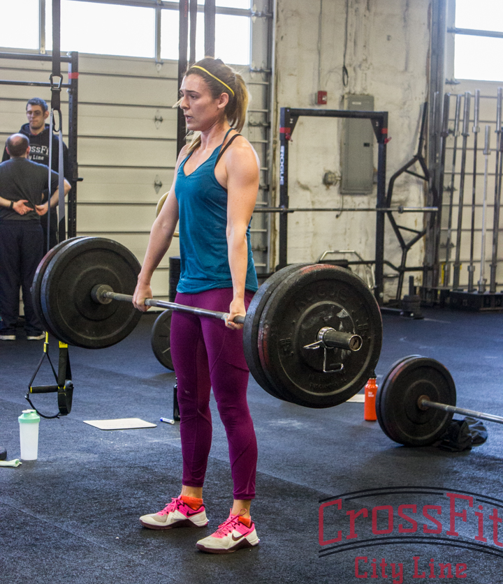 Having a hard time hanging on to those deadlifts? Try a switched grip!