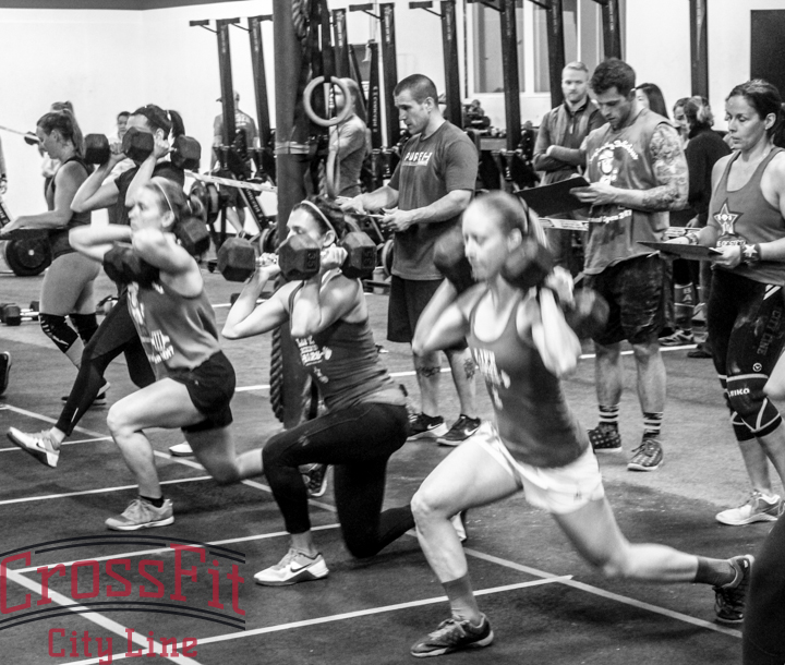 The ladies of 17.2 getting to work