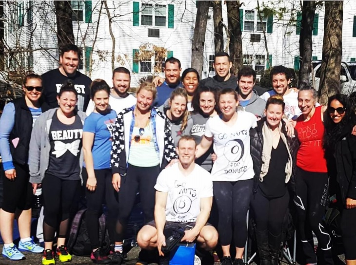 The crew from this weekends Spring Fling team competition at CrossFit 2A