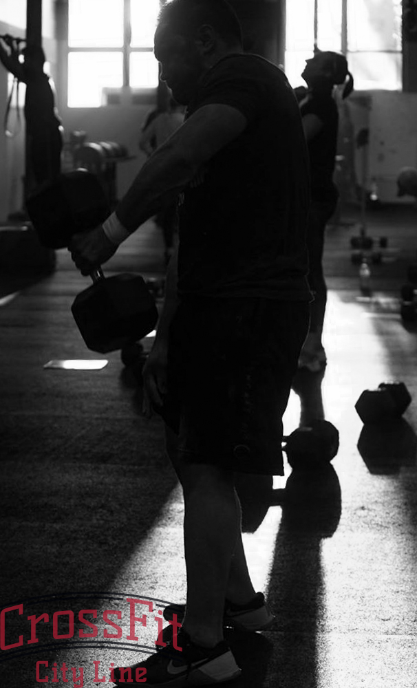 Let the light into your life... embrace the dumbbell snatch