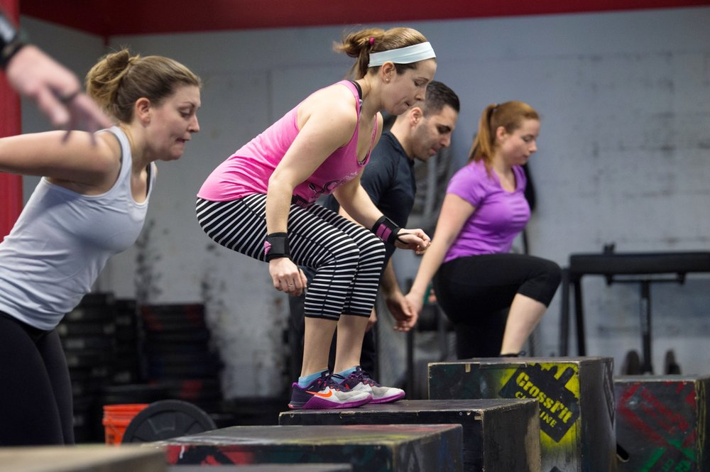 MORE THAN JUST A GYM     TRY CROSSFIT FOR FREE