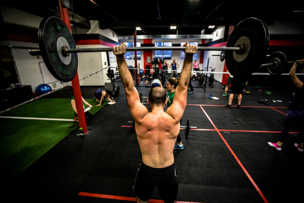 Put your hands up in the air if you love Thrusters!