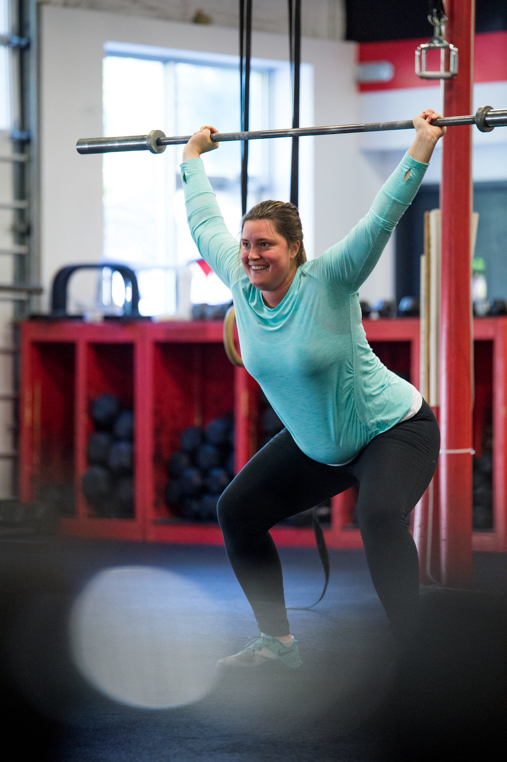Jenna shows us how fun overhead squats are. Have you tried the Overhead Squat Challenge yet?
