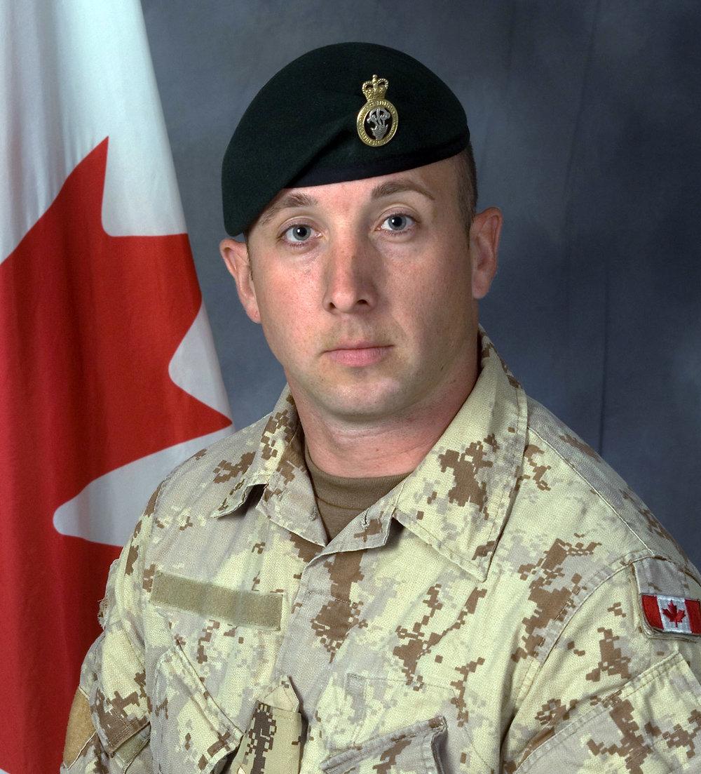Canadian Forces Corporal Nicholas Bulger