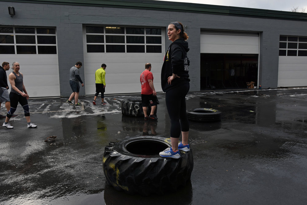 Shelly, Queen of the Tire.