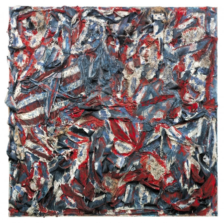 Thornton Dial (1928-2016), Royal Flag, c. 1997-98. Mixed media, 78 x 80 x 7 in. William S. Arnett Collection of Souls Grown Deep Foundation, © 2016 Estate of Thornton Dial / Artist Rights Society (ARS), New York