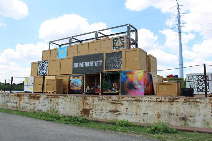 The Floating Museum Barge at Eleanor Street Boathouse