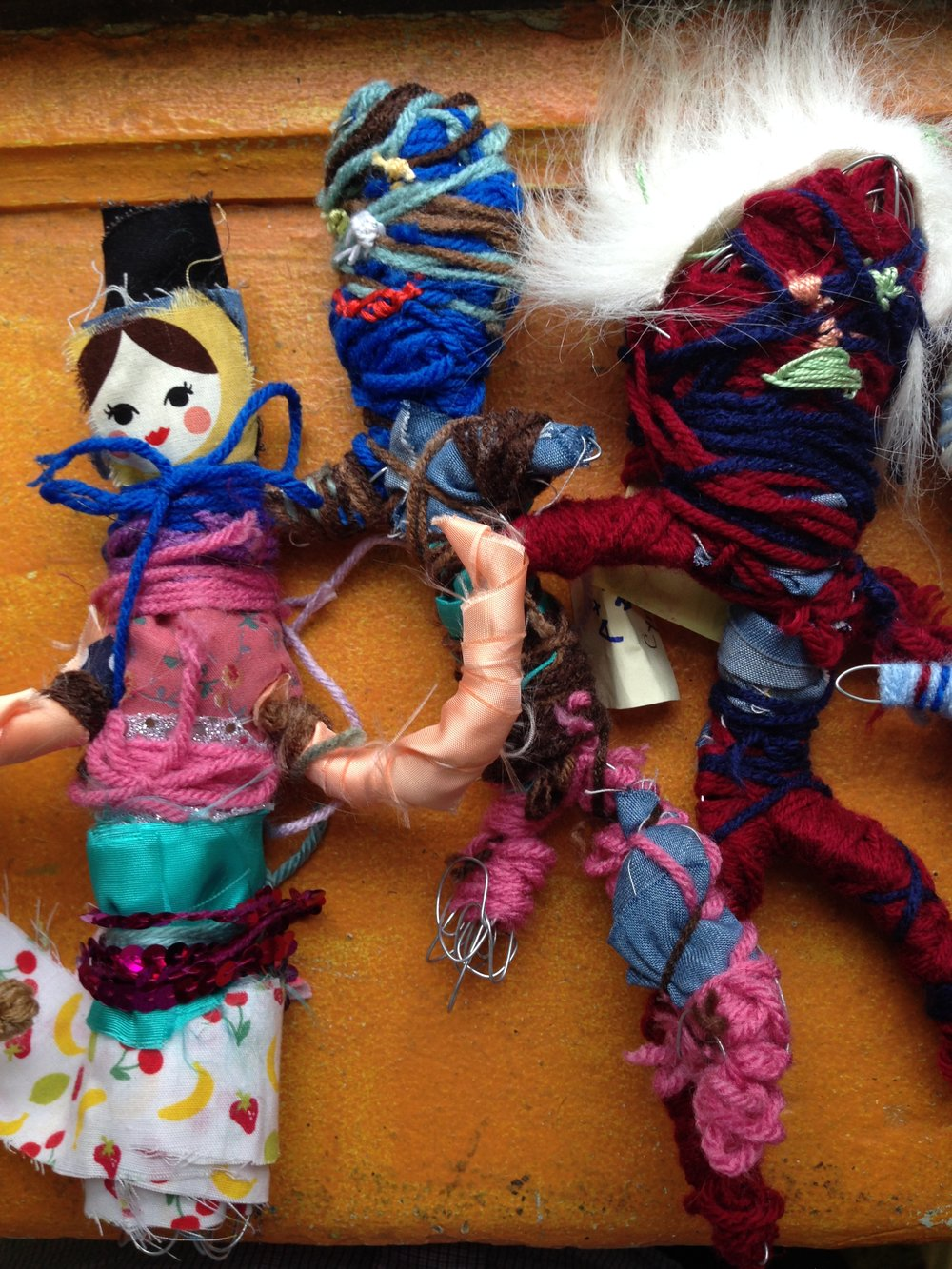 Fabulous Fabricated Found Fabric Figures