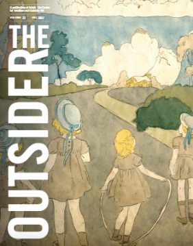 Institutional - Available to libraries, museums, schools and other organizations that would like a mailed subscription to Intuit's publication, The Outsider.One Year: $10