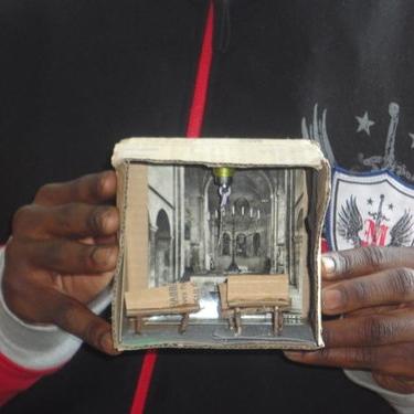 Exploring Personal Space Through Dioramas