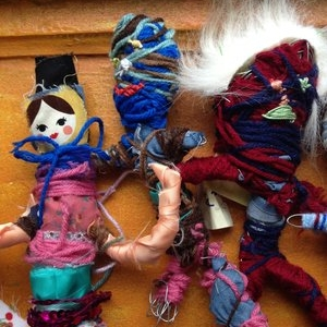 Fabulous Fabricated Found Fabric Figures
