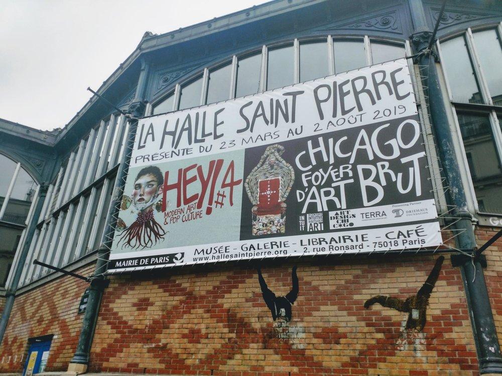 Intuit's  Chicago Calling: Art Against the Flow  ( Chicago: foyer d'art brut)  on view at La Halle Saint Pierre