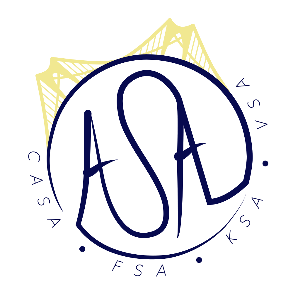 ASA Circle Logo Sticker - $2 - 3 in. diameter