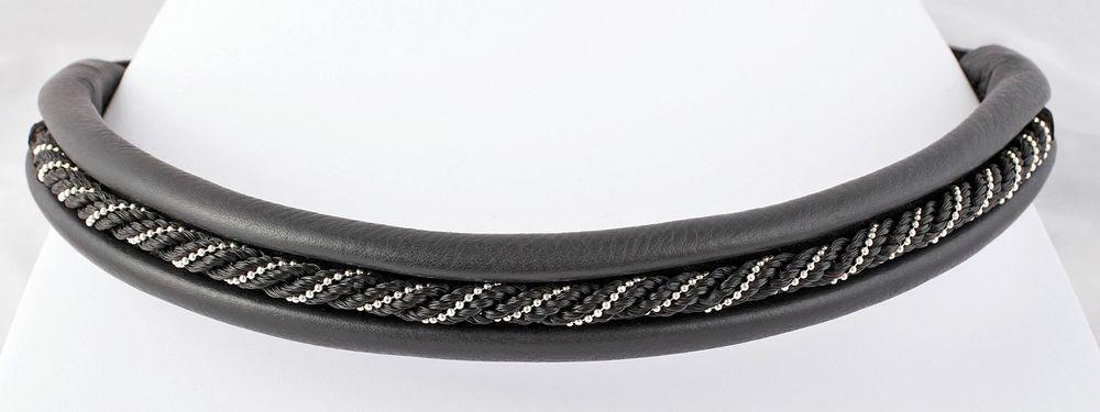 Black Woven Horsehair