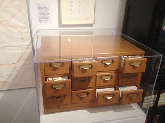 An image taken last year at a Stanley Kubrick exhibition. This is a filing system he created just for the Napoleon movie which was never realized. The creative process is simply awe-inspiring!