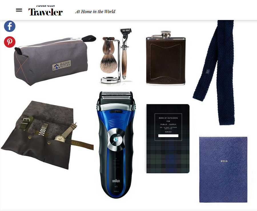 Conde Nast Traveler seems to agree with our travel light philosophy. See the feature here.