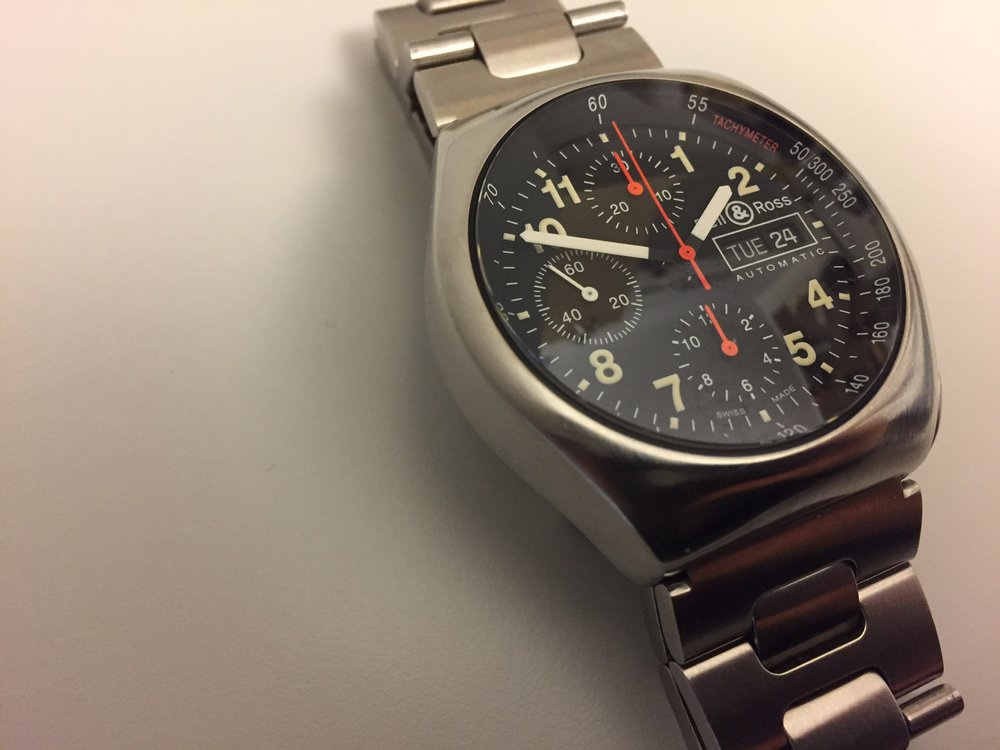 This Space 3 sparked the author's love for tool chronographs.