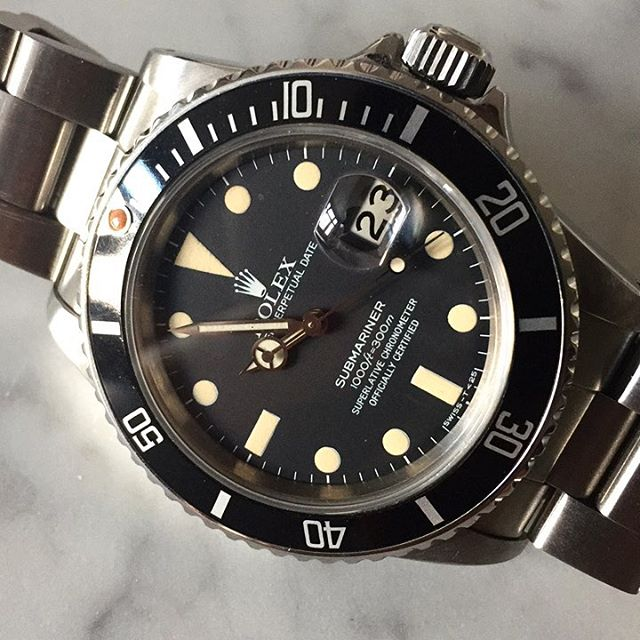 Congrats to its new owner. Pretty sure I will be regretting letting this go later. #watchfam #submariner #hodinkee #fratellowatches #watchesofinstagram