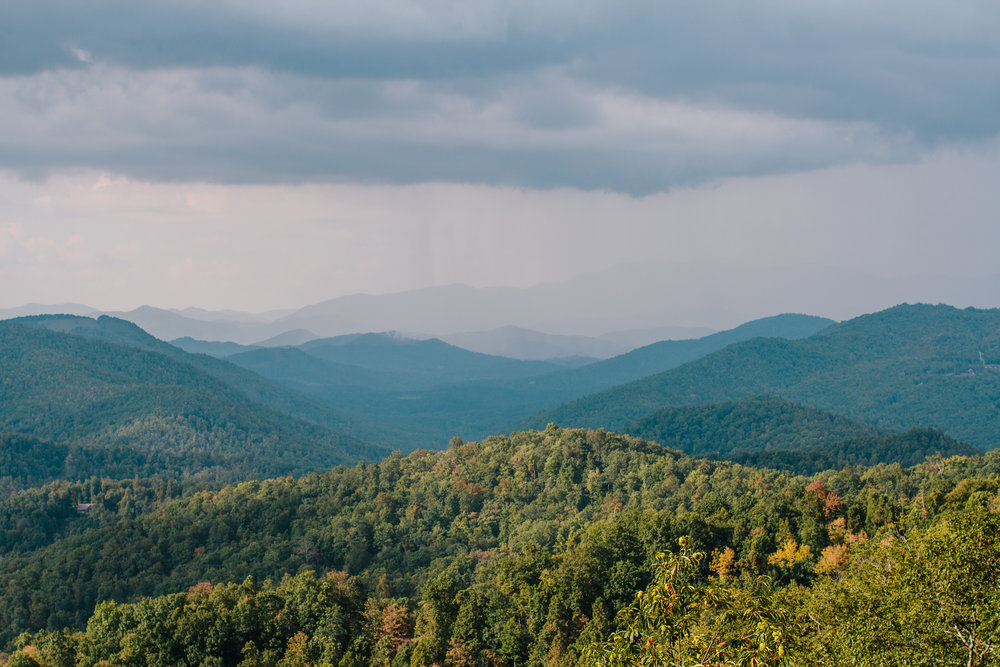 This is an image I took on my camera in the Blue Ridge and put it straight to my phone and posted right away...