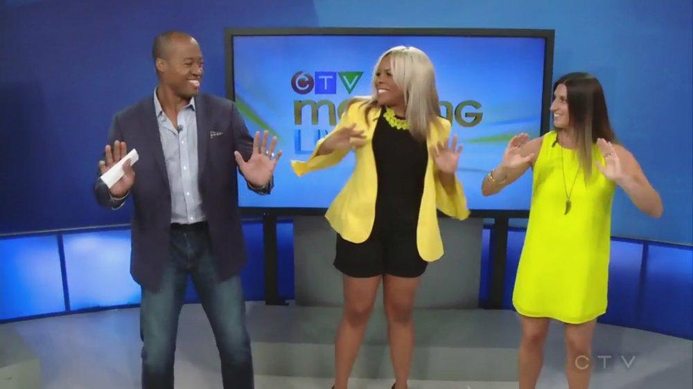 Liza Egbogah - Dance Moves Back Pain