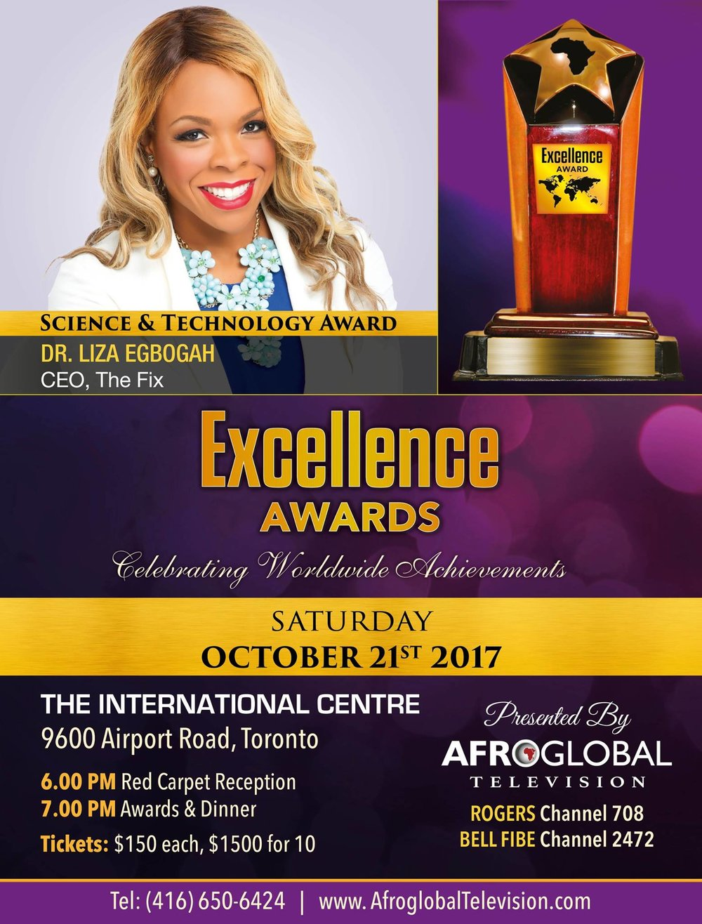 Dr. Liza Egbogah Excellence Awards