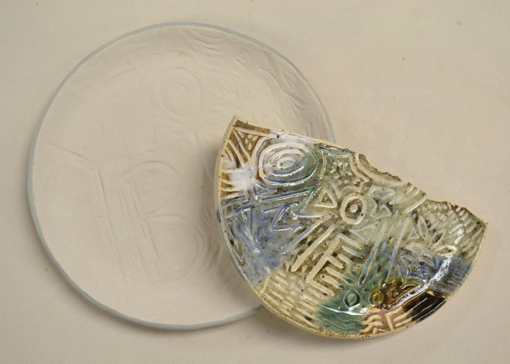 glazed plate pre-fire with sample.jpg
