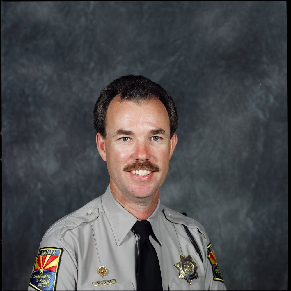 sergeantMichael Lynn CroweArizona DPSend of Watch:Tuesday, July 4, 1995 - Sergeant Crowe and Lieutenant Daniel Elkins, of the Yuma Police Department, were shot and killed after they, and a third officer, went to their headquarters in Yuma, Arizona, to check on paperwork in reference to missing evidence. All three officers were unarmed.While in the building the suspect shot and killed Sergeant Crowe and Lieutenant Elkins. The third officer escaped unharmed and summoned backup. A Yuma County deputy was charged with both murders. Sergeant Crowe and Lieutenant Elkins were the suspect's immediate supervisors in the Southwest Border Alliance.On April 30th, 1997, the suspect was convicted of two counts of first degree murder and sentenced to two consecutive life terms plus 40 years.Sergeant Crowe was survived by his wife and two daughters.