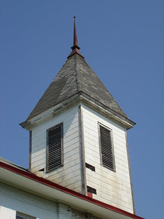 Bell Tower before restoration