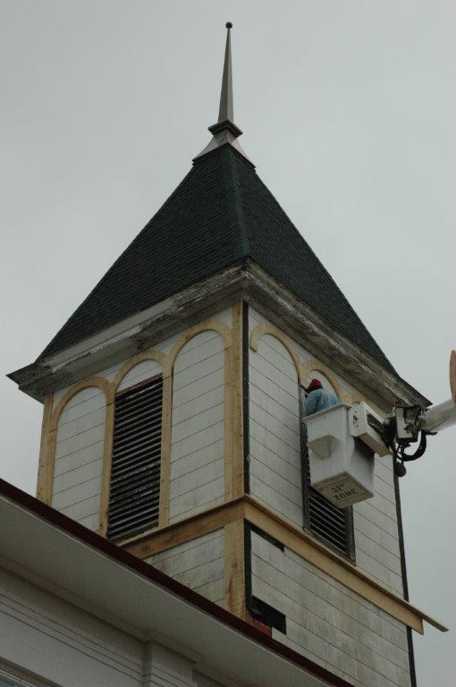 Refurbishing the Bell Tower