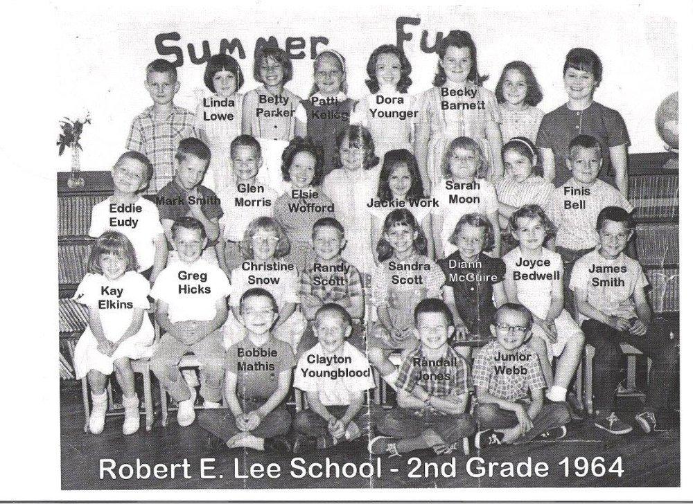 1964: Second Grade Class