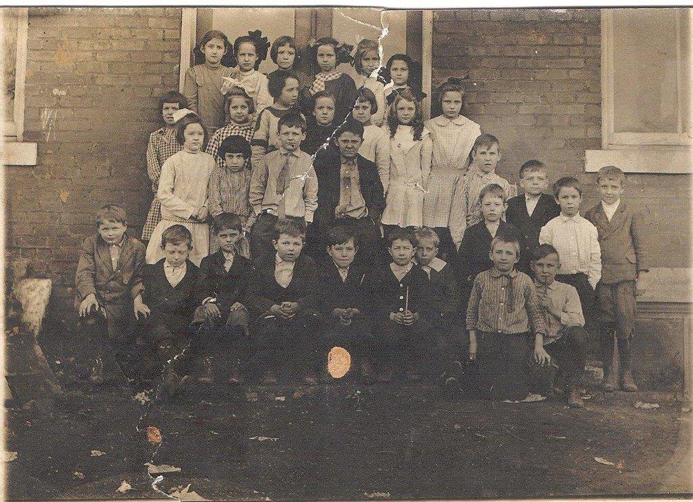 Postcard: 1912 Third Grade