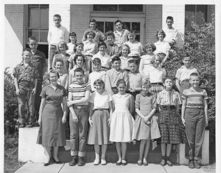1957: Miss Snyder's 7th grade