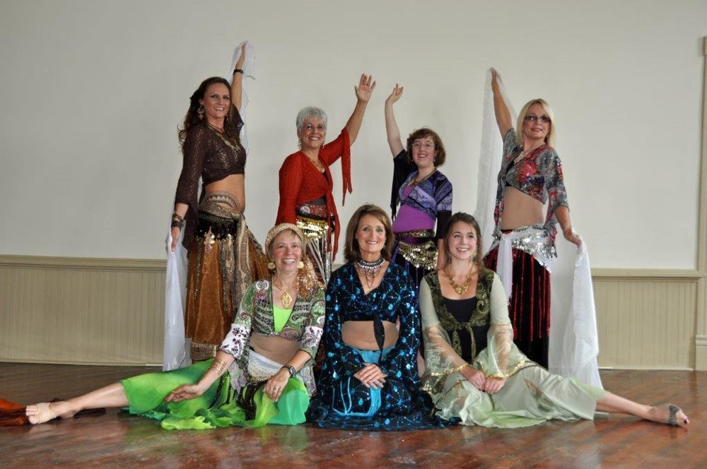 Fundraising: Jane Etheridge's Belly Dance Class