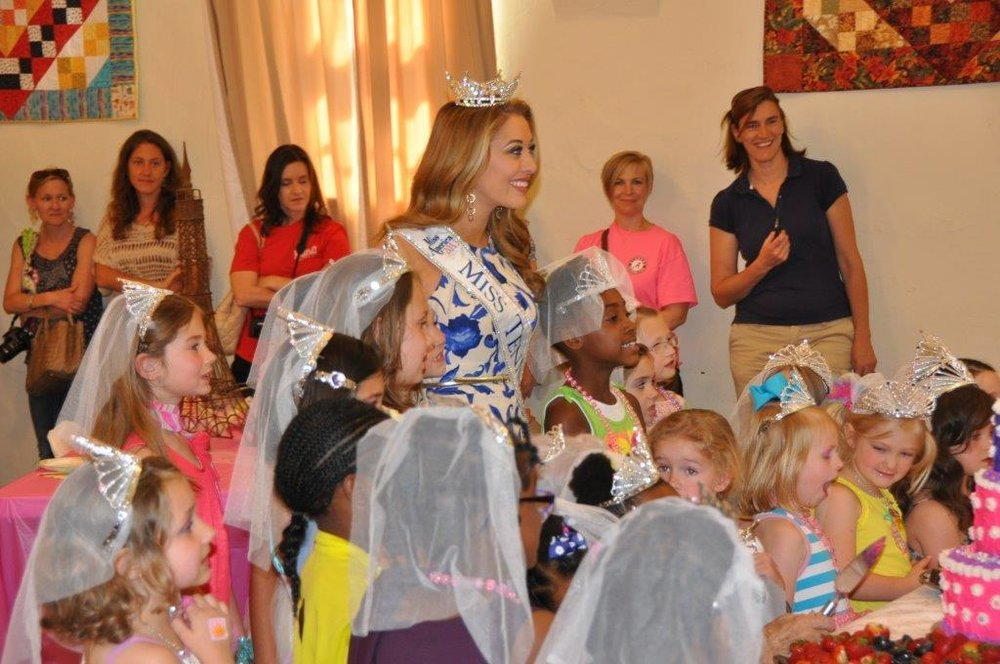 Miss TN & Fancy Nancy Tea Party